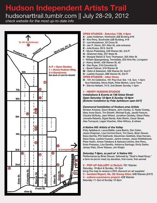 The Hudson Independent Artists Trail