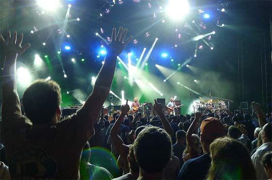 Phish @ SPAC, 7/7/12 (photo by Kirsten Ferguson)