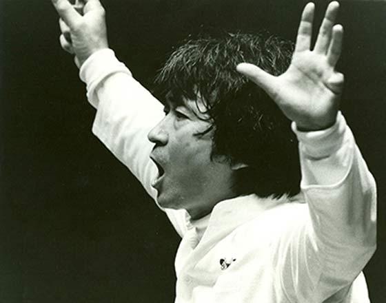 Seiji Ozawa. (photo: Walter Scott)