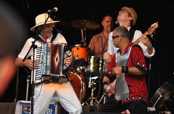 August 3: Captain Squeeze & the Zydeco Moshers