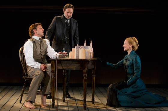(l to r) Bradley Cooper, Alessandro Nivola and Patricial Clarkson in The Elephant Man at the Williamstown Theatre Festival to August 5, 2012 (photo: T Charles Erickson)