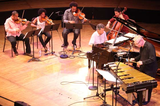 Chick Corea, Gary Burton and the Harlem String Quartet