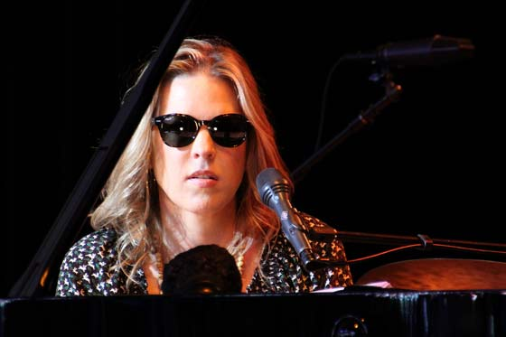Diana Krall (photo by Stanley Johnson)