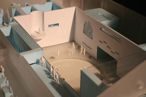 Proposed model for The Marina Abramović Foundation for the Preservation of Performance Art in Hudson