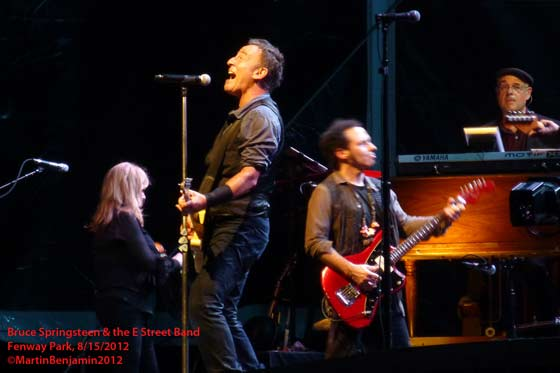 Bruce Springsteen & the E Street Band @ Fenway Park, 8/15/12