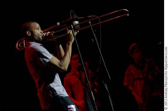 Trombone Shorty (photo by Andrzej Pilarczyk)