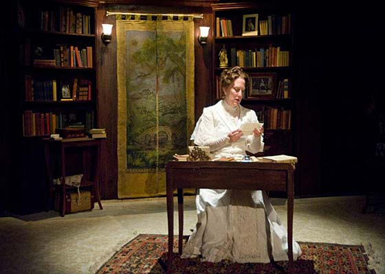 The Inner House features Tod Randolph as Edith Wharton. At The Mount in Lenox, August 15-26, 2012.