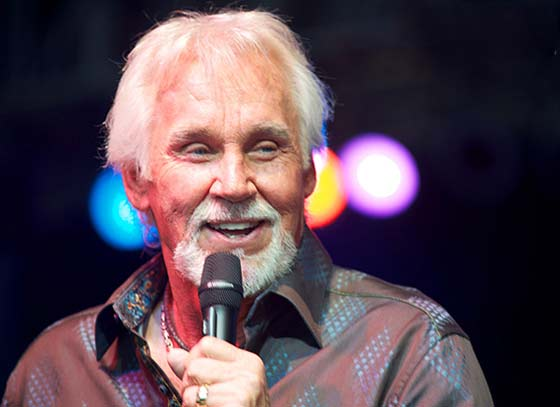 Kenny Rogers will be at the Colonial Theatre in Pittsfield, MA, on September 27, 2012.