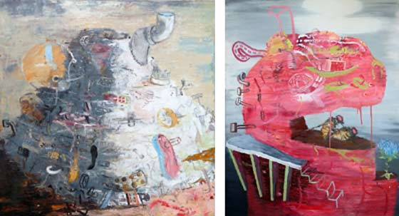 Paintings by Marc Roder @ Courthouse Gallery