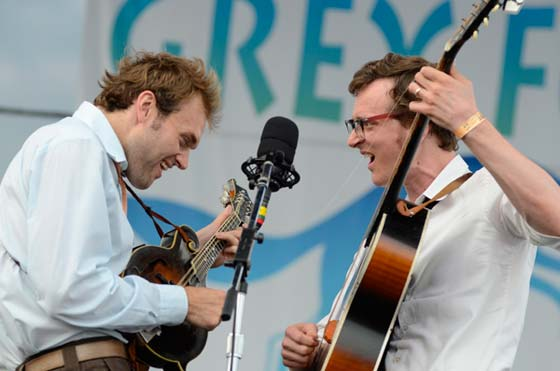 Chris Thile and Michael Davis @ Grey Fox Music Festival in July