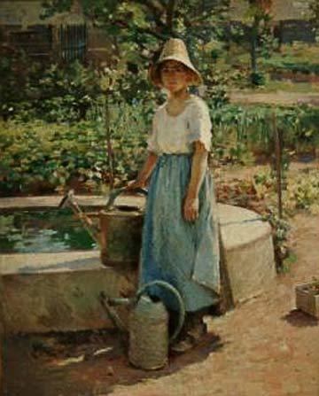 Theodore Robinson: Josephine in the Garden @ The Arkell Museum