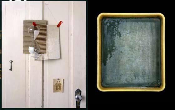 John Chervinsky: Hourglass and John Cyr: Sally Mann's Developer Tray @ Davis Orton Gallery