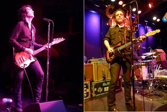 Jon Spencer and Judah Bauer
