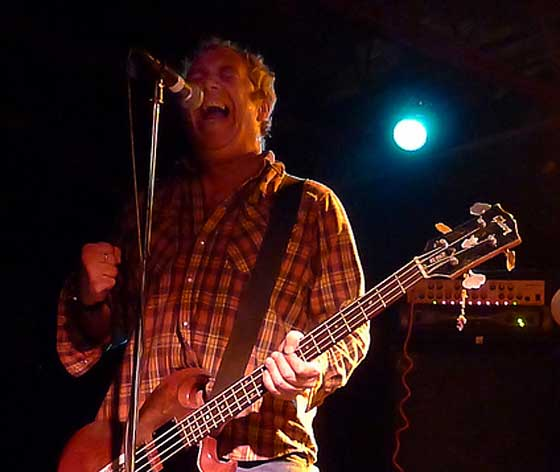 Mike Watt  (photo by Kirsten Ferguson)