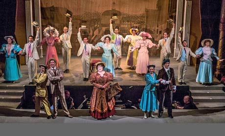 The cast of Hello Dolly at the Cohoes Music Hall November 2-11, 2012.