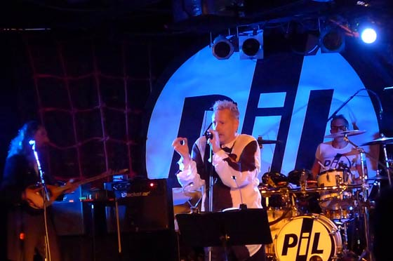 Public Image Limited @ Upstate Concert Hall, 10/12/12