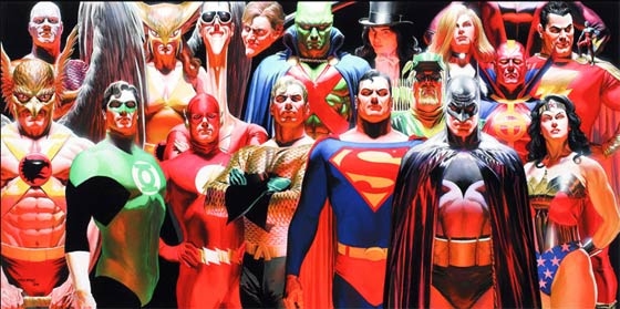 Alex Ross: Justice Vol. 1 Collection @ Norman Rockwell Museum