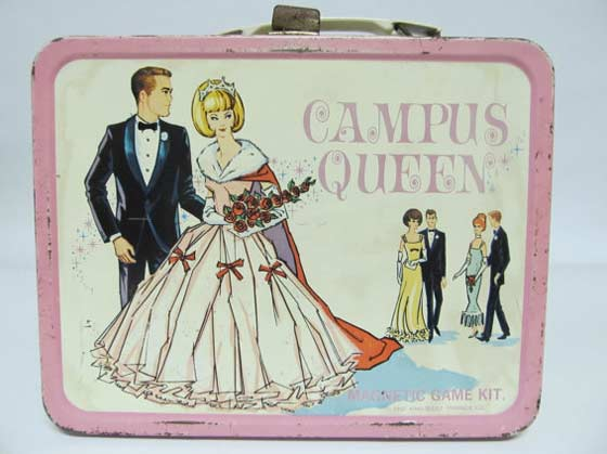 Vintage 1967 Campus Queen Lunchbox