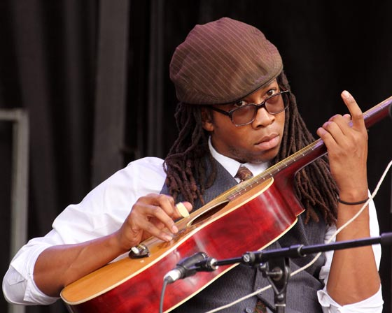 Carolina Chocolate Drops @ Mountain Jam (photo by Stanley Johnson)
