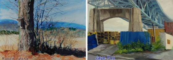 Works by Robert Lafond and Jaye Fox @ Studio 21South