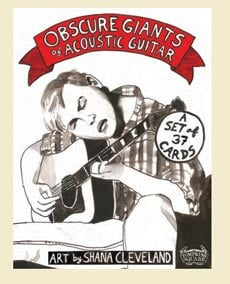 "Obscure Giants of Acoustic Guitar"" Trading Card Set"