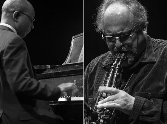James Weidman and Joe Lovano