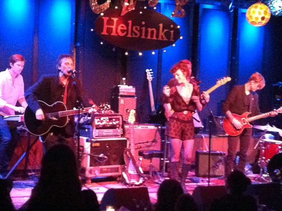Tommy Stinson and Melissa Auf der Maur