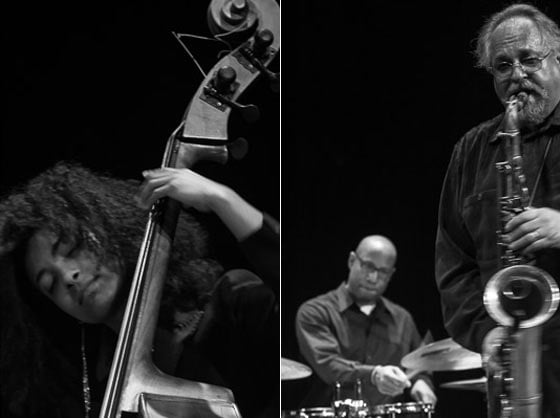 Esperanza Spalding, Otis Brown III and Joe Lovano