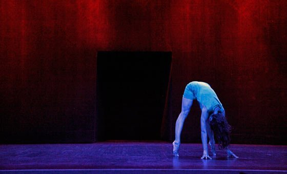 """EXIT"" at EMPAC at RPI in Troy (Photo by Hendrik De Smedt)"