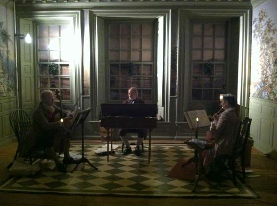 LIVE: Twelfth Night @ the Schuyler Mansion, 1/5/13 (photo by Nicole Campon)