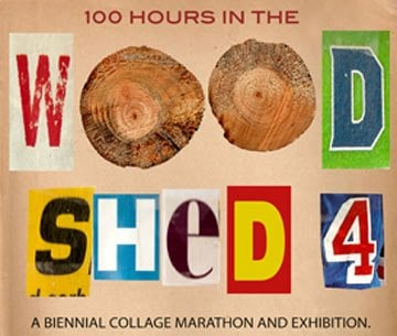 100 Hours in the Woodshed 4 @ MCLA Gallery 51