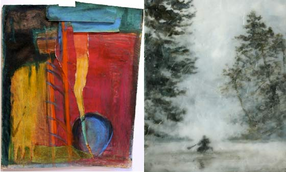 Works by Dorothea Osborn and Blair Lambert @ The Albany Barn