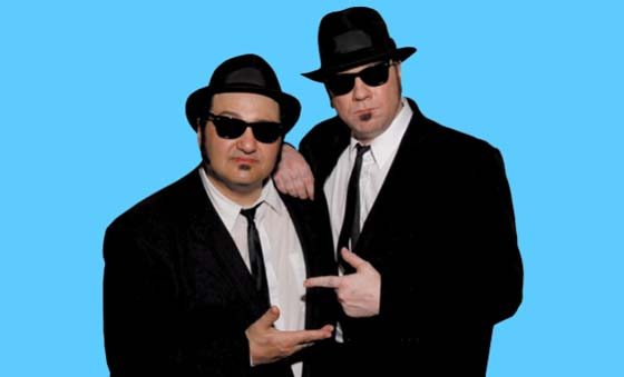 February 17 the Blues Brothers go from screen to stage as Wayne Catania and Kieron Lafferty become Jake and Elwood for an evening