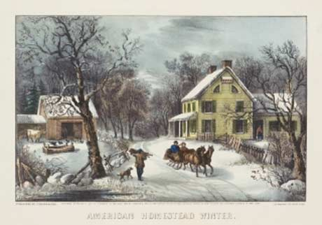 The Legacy of Currier & Ives: Shaping the American Spirit @ Albany Institute of History & Art