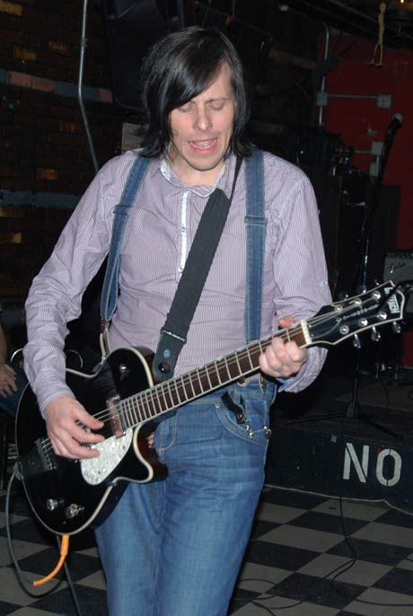 Ken Stringfellow @ Valentine's Music Hall (photo by Alan Goldberg)