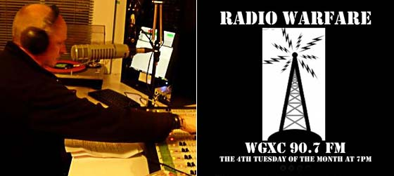 "Tim Livingston Hosts ""Radio Warfare"" on WGXC-FM"
