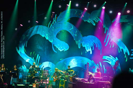 Trey Anastasio Band @ the Palace Theatre, 1/26/13 (photo by Martin Benjamin)