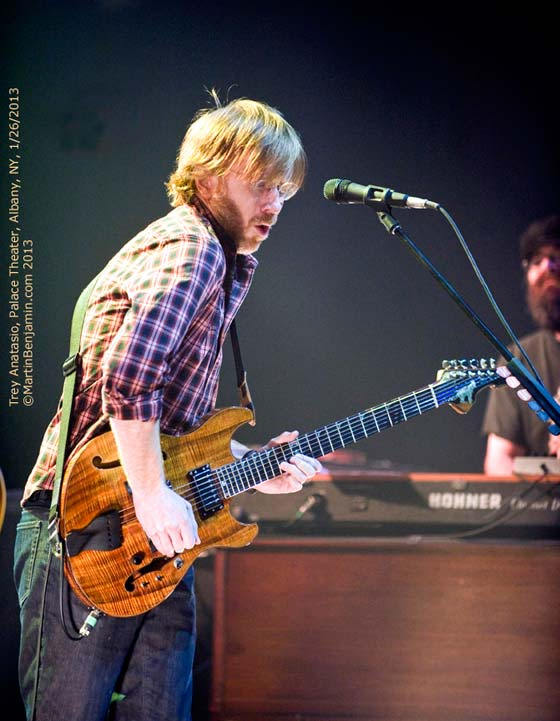 Trey Anastasio Band @ the Palace Theatre, 1/26/13 -