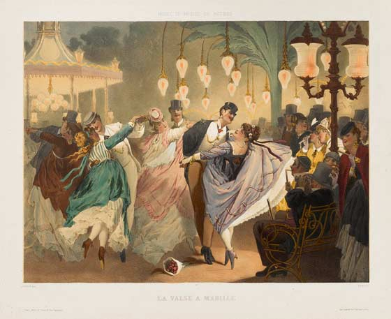Gustave Barry and Philippe Jacques Linder: Waltz at Mabille @ The Clark
