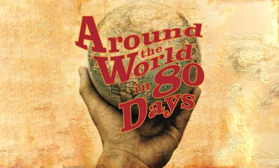 Around the World in 80 Days @ Oldcastle Theatre Company