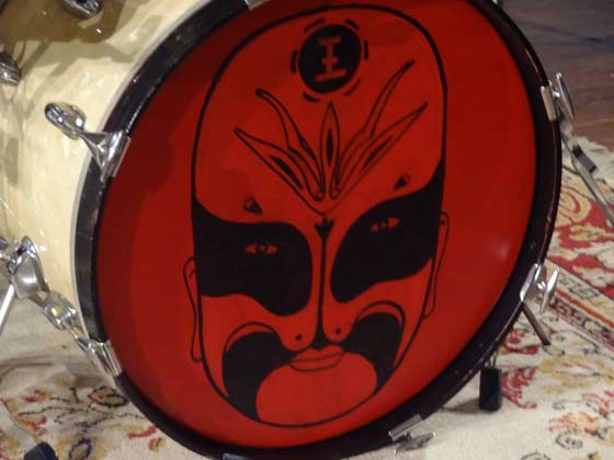 Barbaro's bass drum