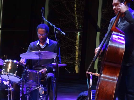 Brian Blade and Chris Thomas