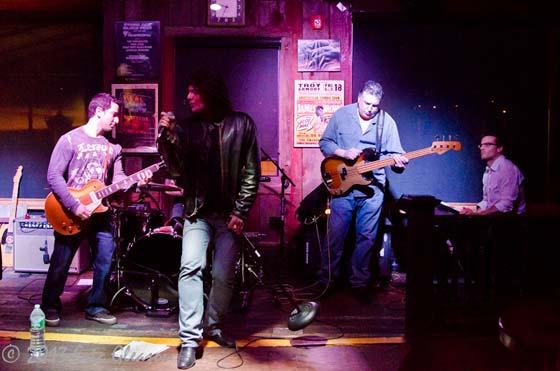 The Matt Mirabile Band: Matt Mirabile, Tommy Love, Josh Bloomfield, Steve Aldi and Jason Ladanye