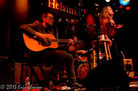 Amy Helm @ Club Helsinki (photo by Eric Gleason)