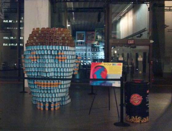 Canstruction @ The New York State Museum