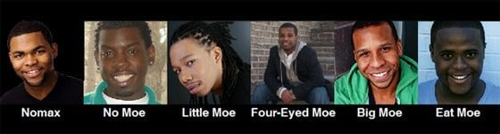Five Guys Named Moe @ Cohoes Music Hall