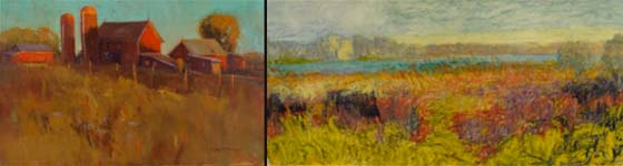 Works by Ann Larsen and Catherine Minnery @ Sorelle Gallery