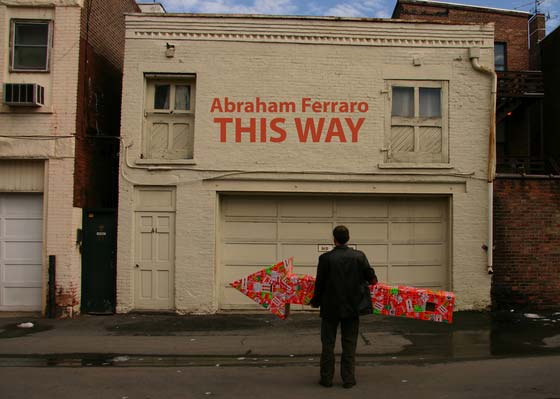 Abraham Ferraro:  This Way @ The Fulton Street Gallery