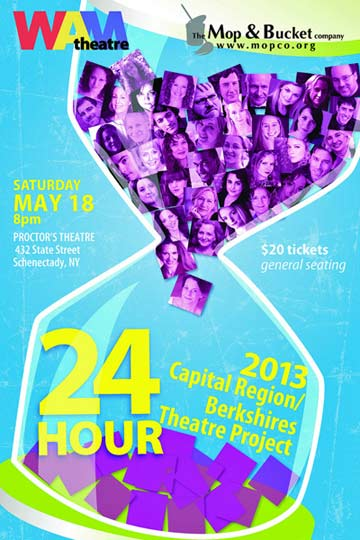 24 Hour Theatre Project @ Proctors, Schenectady