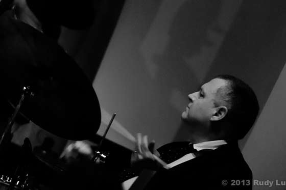 Michael Benedict & Bopitude @ the Van Dyck, 3/30/13 (photo by Rudy Lu)